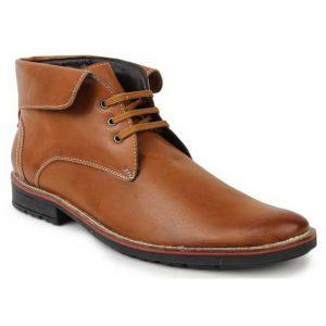Le-Costa-Tan-Faux-Leather-Shoes
