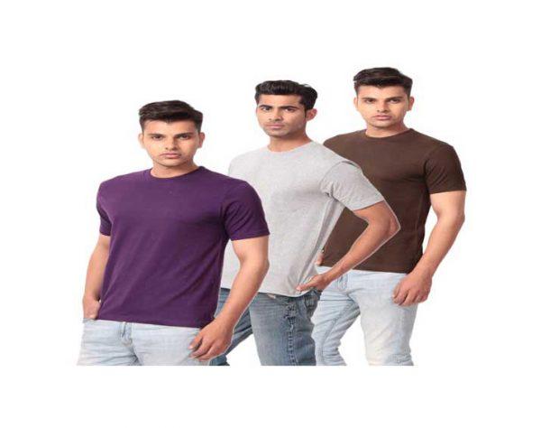 Multi-Cotton-T-Shirt