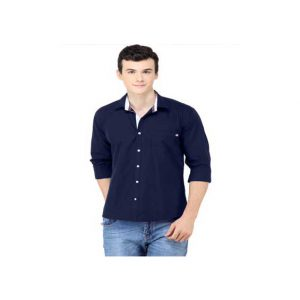 Navy-Cotton-T-Shirt_Full-Sleeve