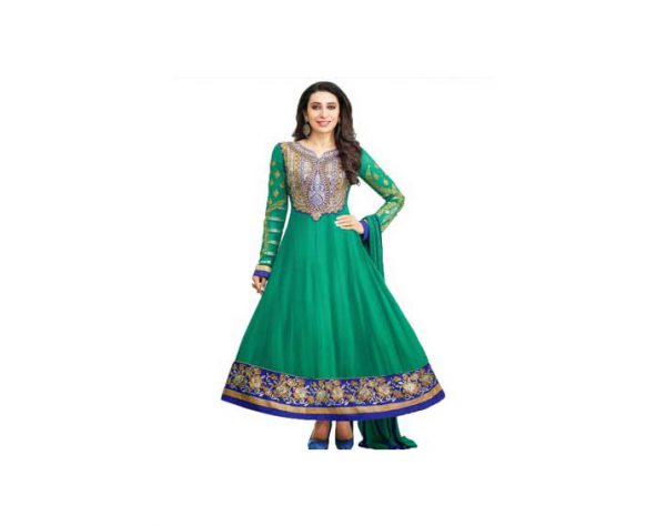 Party-Wear-Embroidered-Dresses_Green