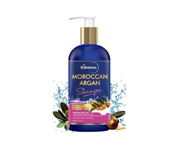 Smooth tresses: This exotic, precious blend with argan oil of morocco that penetrates, moisturizes, renews, and creates softness and strength all while protecting your hair from harmful styling heat and UV damage as it gives you smooth tresses. No SLS. No Parabens. No Sulfates, no harmful chemicals, no silicon. No Colors. Recommended for both men and women Liquid gold moroccan argan oil deeply hydrates, soothes and heals effects of blow drying and sun damage